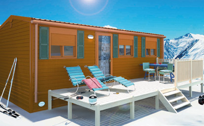 Mobile homes homes on wheels housing modules for campsites for Case mobili pigreco